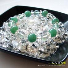 さざれ水晶チップ ブレスレットの浄化方法