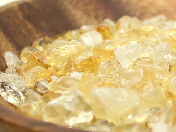 画像2: 【200g】シトリン(黄水晶) さざれチップ 心身のコントロールと蓄財パワー