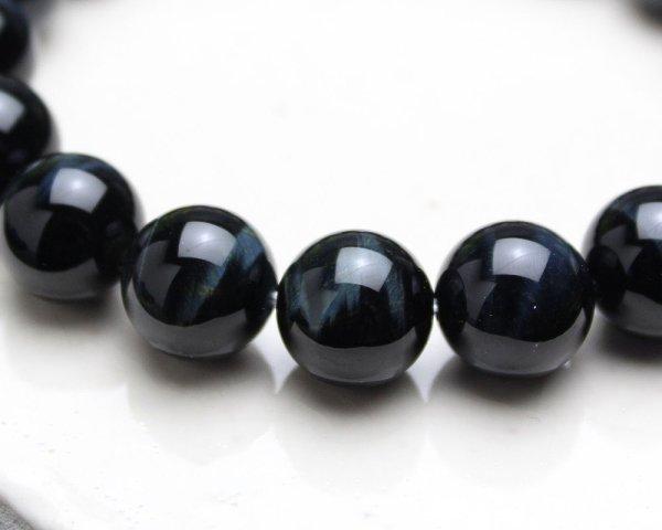 画像3: 金運・仕事運UP♪12ミリ高級青虎目石 パワーストーン 数珠 ブレスレット