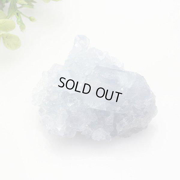 画像4: 【セール20%OFF】セレスタイト クラスター 123g 天然石 原石 置石