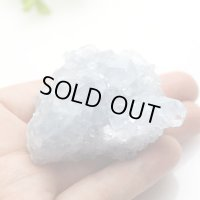 【セール20%OFF】セレスタイト クラスター 123g 天然石 原石 置石