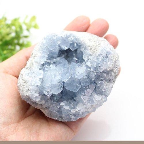 他の写真1: 【セール20%OFF】セレスタイト クラスター 315g 天然石 原石 置石