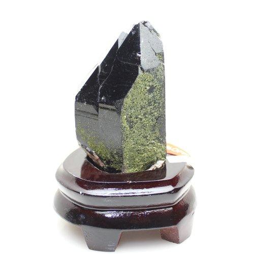 他の写真3: 【24%OFF】最強の邪気払い モリオン (黒水晶) 大きいポイント 628g