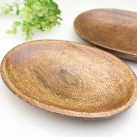【2枚セット】木製のお皿 さざれチップ入れにどうぞ! 浄化グッズ ウッドトレイ ※メール便配送不可