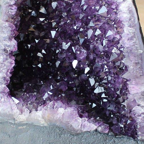 他の写真3: ウルグアイ産 アメジスト ドーム カペーラ クラスター カルサイト共生 7.4kg