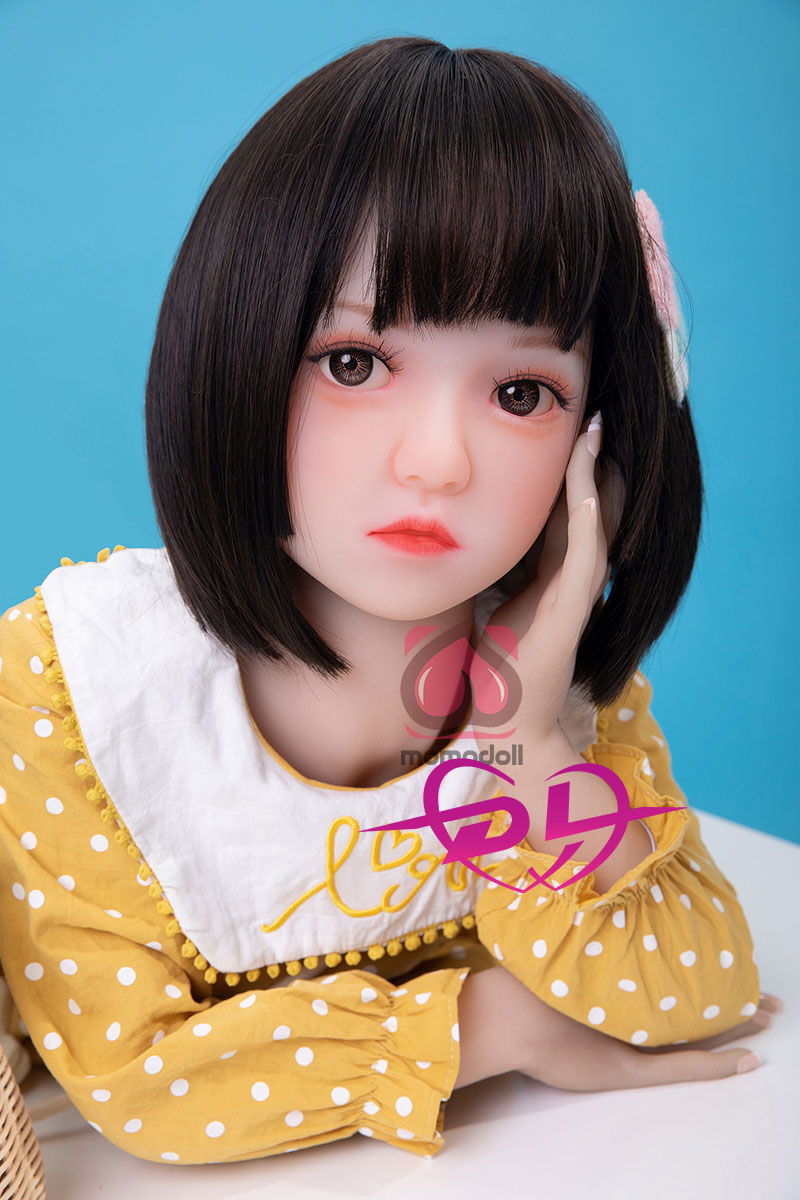The look of a very cute love doll